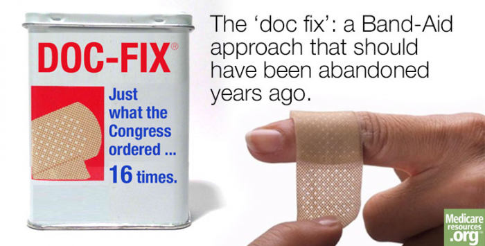 Ding. Dong. The 'doc fix' is dead.