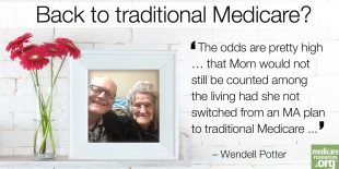 Why Mom went back to traditional Medicare photo