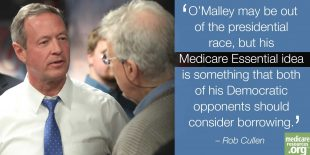 O'Malley is out; his Medicare plan shouldn't be photo