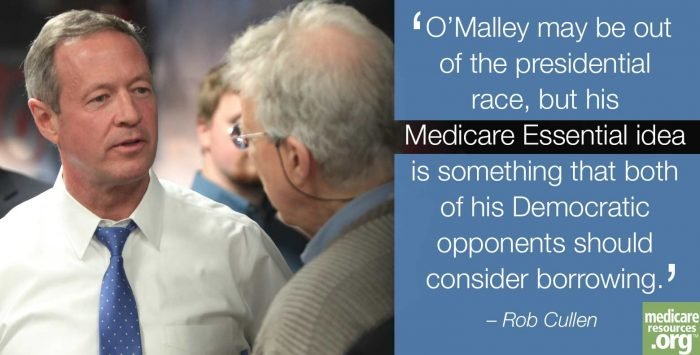 O'Malley is out; his Medicare plan shouldn't be