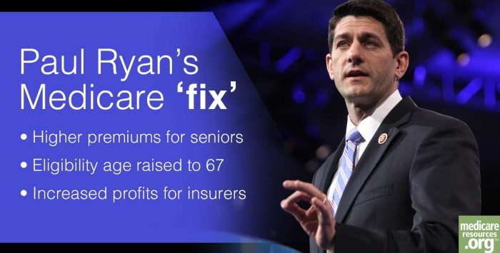 Paul Ryan wants to Trump Medicare as we know it