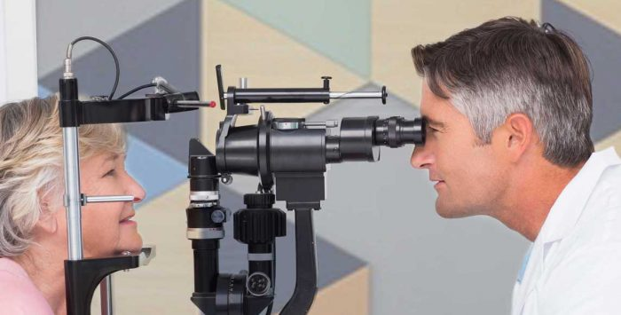 How does Medicare cover vision services and treatment?