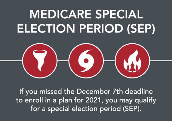 Medicare disaster special enrollment period